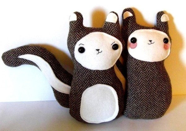 squirrel plushies