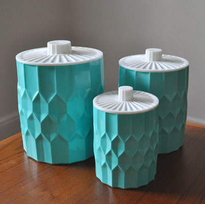 Exceptional ... Turquoise Kitchen Canister Sets By Turquoise Canisters Speckless Blog  ...