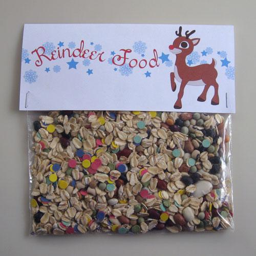 Free Printable: Reindeer Food Label | Speckless Blog