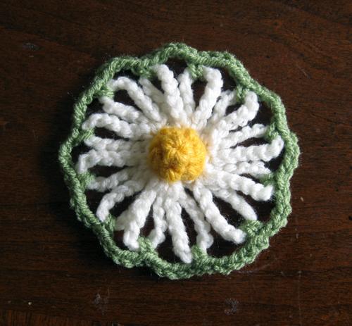 Crochet Pattern Vintage Daisy Motif Hello Speckless Crochet