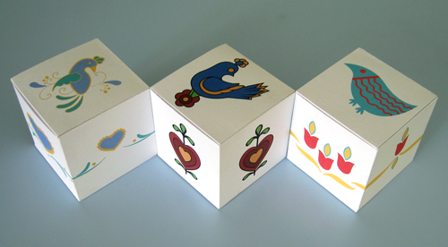 double dutch favor boxes