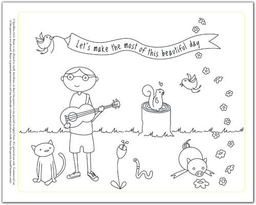 friends embroidery pattern