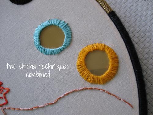 shisha embroidery