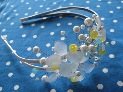 handmade headband by speckless