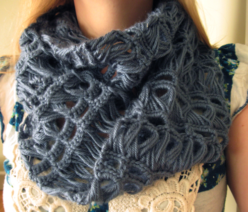 broomstick lace scarf by speckless