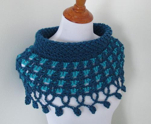 Rainy Day Crochet Poncho