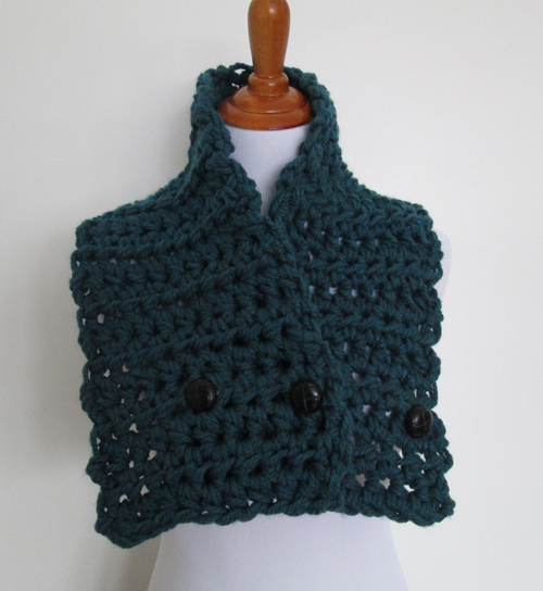 Simple Man Convertible Cowl Pattern