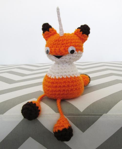 Crochet Foxicorn Amigurumi